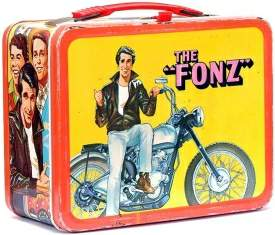 "Vintage ""Fonz"" metal lunch box"